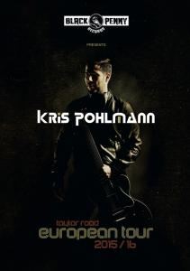 KRIS POHLMANN European Tour 2015-2016 Postcard
